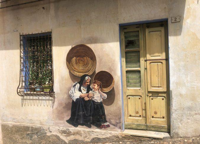 Murales von Oliena