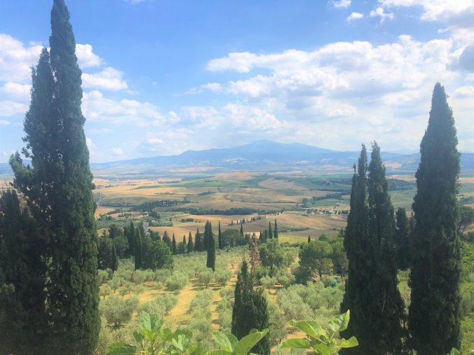 Panorama Pienza