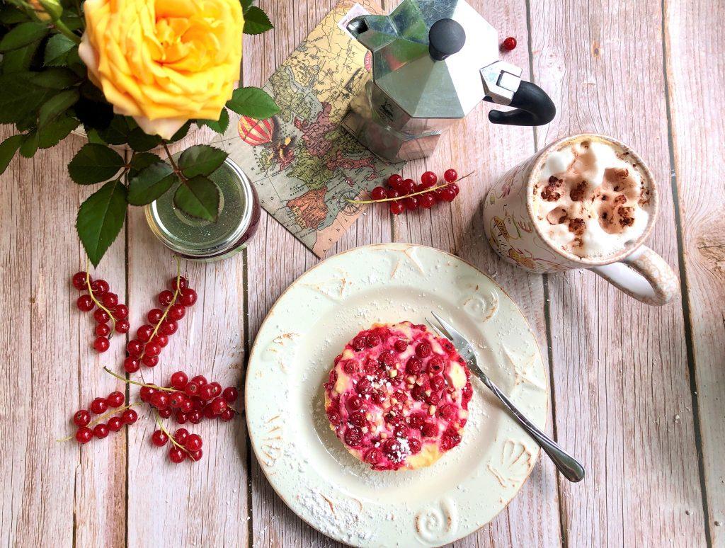 Johannisbeer-Ricotta-Kuchen