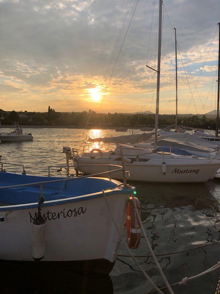 Abendstimmung Porto Torchio